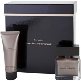 Narciso Rodriguez For Him set cadou IV.  Eau de Parfum 50 ml + Gel de dus 75 ml