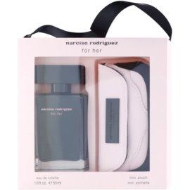 Narciso Rodriguez Narciso lote de regalo V.  eau de toilette 50 ml + cartera