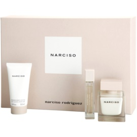 Narciso Rodriguez Narciso dárková sada I. parfémovaná voda 50 ml + parfémovaná voda 10 ml + tělové mléko 50 ml