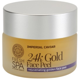 Natura Siberica Fresh Spa Imperial Caviar подмладяващ пилинг за лице  с 24 каратово злато  50 мл.
