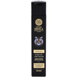 Natura Siberica Men Energizing Shampoo für Haar und Körper  250 ml