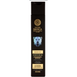 Natura Siberica Men osviežujúci sprchový gél pre mužov  250 ml