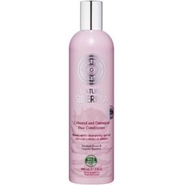 Natura Siberica Natural & Organic kondicionér pro barvené a poškozené vlasy  400 ml