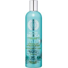 Natura Siberica Natural & Organic szampon nawilżający do włosów suchych  400 ml