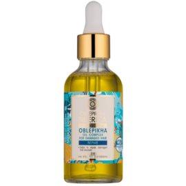 Natura Siberica Sea-Bucktorn olejek do pielęgnacja włosów zniszczonych  50 ml
