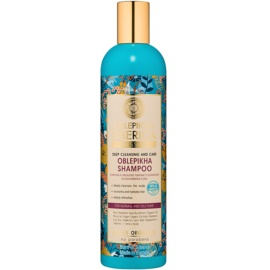 Natura Siberica Sea-Bucktorn champô de limpeza profunda para cabelo normal a oleoso   400 ml