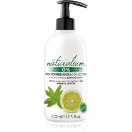 Naturalium Fruit Pleasure Herbal Lemon hranilni losjon za telo  370 ml