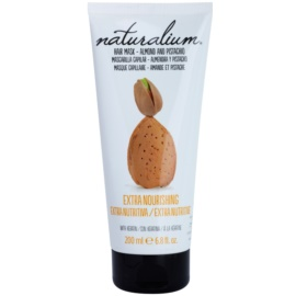 Naturalium Nuts Almond and Pistachio výživná maska s keratinem  200 ml