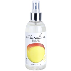Naturalium Fruit Pleasure Mango osvežujoče pršilo za telo  200 ml