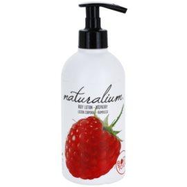 Naturalium Fruit Pleasure Raspberry výživné telové mlieko   370 ml