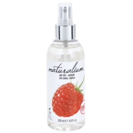 Naturalium Fruit Pleasure Raspberry odświeżający spray do ciała  200 ml