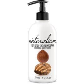 Naturalium Nuts Shea and Macadamia regenerační tělové mléko  370 ml