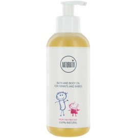Naturativ Baby Bade - und Gesichtsöl für Kinder ab der Geburt  250 ml