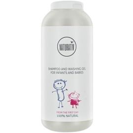 Naturativ Baby Shampoo und Waschgel 2in1 für Kinder ab der Geburt  250 ml