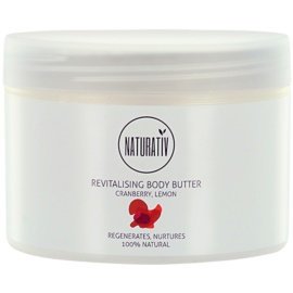 Naturativ Body Care Revitalising Body Butter With Moisturizing Effect  250 ml