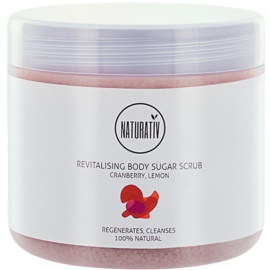 Naturativ Body Care Revitalising peeling de açúcar para corpo  500 ml