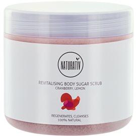 Naturativ Body Care Revitalising Zucker-Peeling für den Körper  500 ml