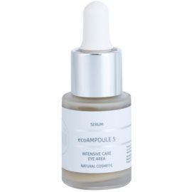 Naturativ Face Care ecoAmpoule 5 intenzivní péče na oční okolí  30 ml