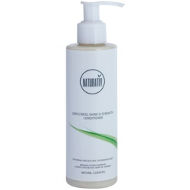 Naturativ Hair Care Getleness,Shine&Strength kondicionér pro citlivou pokožku hlavy  200 ml