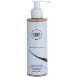 Naturativ Hair Care Dark balsam pentru a evidentia culoarea parului  200 ml