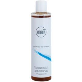 Naturativ Hair Care Volume&Shine objemový šampón pre jemné vlasy bez objemu  250 ml
