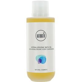 Naturativ Body Care Hypoallergenic sprchový a kúpeľový olej s hydratačným účinkom  200 ml