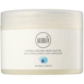 Naturativ Body Care Hypoallergenic Body-Butter mit  feuchtigkeitsspendender und beruhigender Wirkung für trockene und sehr trockene Haut  250 ml