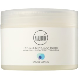Naturativ Body Care Hypoallergenic tělové máslo s hydratačním a zklidňujícím účinkem pro suchou až velmi suchou pokožku  250 ml