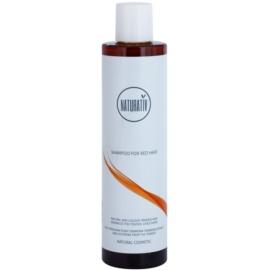 Naturativ Hair Care Red champô suave para enfatização de cor de cabelo   250 ml