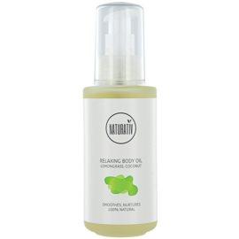 Naturativ Body Care Relaxing Körperöl spendet spannender Haut Feuchtigkeit  125 ml
