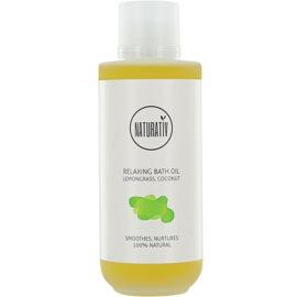 Naturativ Body Care Relaxing koupelový olej pro hydrataci a vypnutí pokožky  200 ml