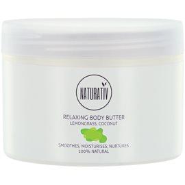 Naturativ Body Care Relaxing manteiga corporal  com efeito alisador  250 ml