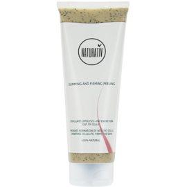 Naturativ Body Care Slimming and Firming Bodypeeling gegen Cellulite mit feuchtigkeitsspendender Wirkung  250 ml