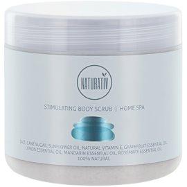 Naturativ Body Care Home Spa stimulujúci telový peeling so soľou a cukrom  500 ml