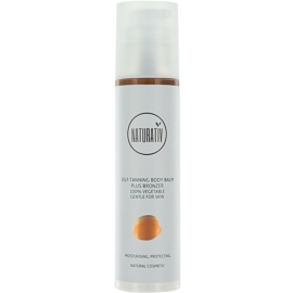 Naturativ Sun Care Sun Fun samoopalovací tělový balzám a bronzer s hydratačním účinkem  200 ml