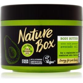 Nature Box Avocado hranilno maslo za telo  200 ml