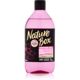 Nature Box Almond zmiękczający żel pod prysznic na suchą skórę  385 ml