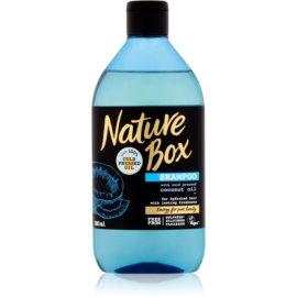 Nature Box Coconut osvěžující šampon s hydratačním účinkem  385 ml