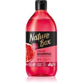 Nature Box Pomegranate shampoing hydratant et revitalisant protection de couleur  385 ml