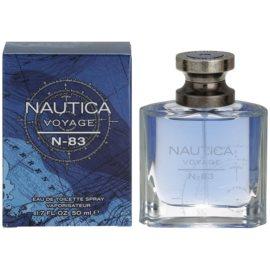 Nautica Voyage N-83 eau de toilette pour homme 50 ml