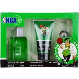 NBA Boston Celtics dárková sada I. toaletní voda 100 ml + sprchový gel 150 ml + klíčenka