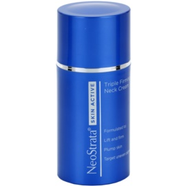 NeoStrata Skin Active crema alisadora y reafirmante para unificar la pigmentación del escote y cuello  80 g