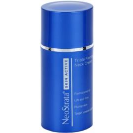 NeoStrata Skin Active розгладжуючий крем проти пігментації зони шиї і декольте  80 гр