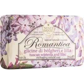 Nesti Dante Romantica Tuscan Wisteria & Lilac mydło naturalne  250 g