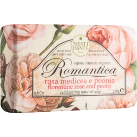 Nesti Dante Romantica Florentine Rose and Peony Natural Soap  250 g