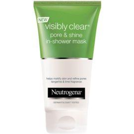 Neutrogena Visibly Clear Pore & Shine maseczka do twarzy  150 ml