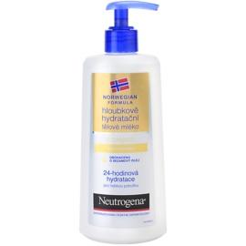 Neutrogena Body Care hloubkově hydratační tělové mléko s olejem  250 ml