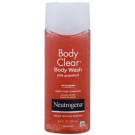 Neutrogena Body Clear sprchový gel s peelingovým efektem  250 ml
