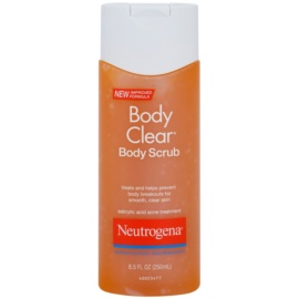 Neutrogena Body Clear peeling tusfürdő  250 ml