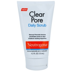 Neutrogena Clear Pore arcpeeling pattanások ellen  125 ml